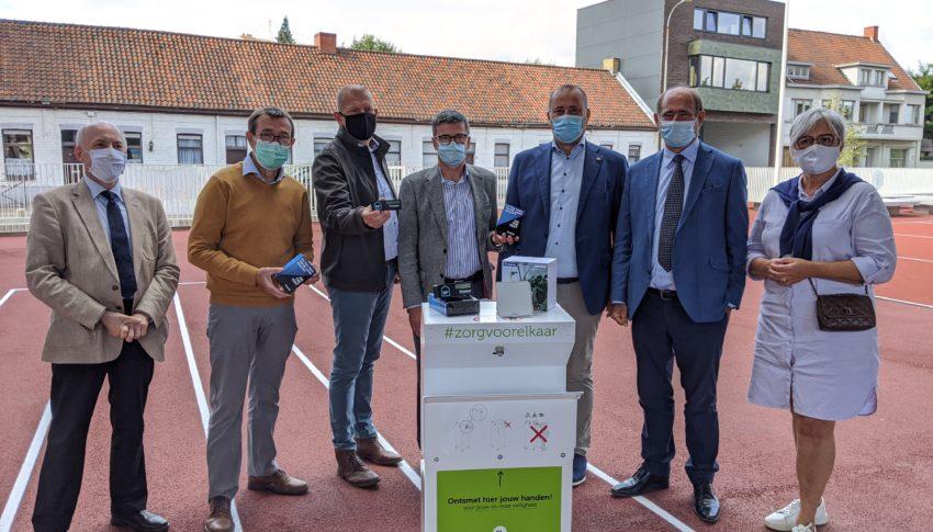 CO2-meters in Waregemse scholen