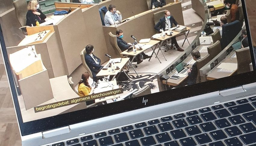 Begrotingsdebat Vlaams Parlement
